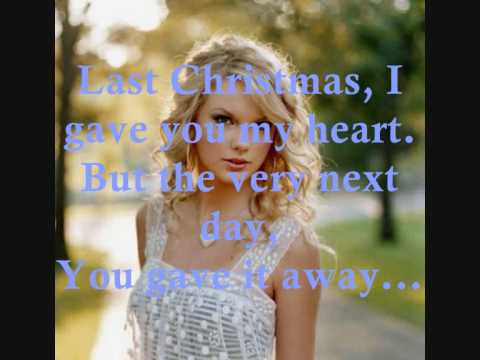 Last Christmas by Taylor Swift +Lyrics