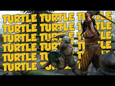 TURTLE IS TRIGGER WORD -  For Honor Turtle Moments + 3 DLC Codes Giveaway