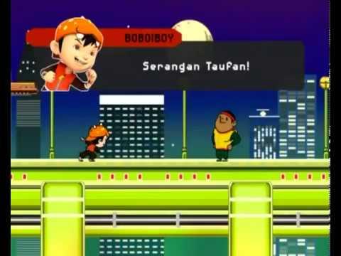 BoBoiBoy   BoBoiBoy and Gopal inside the PZ5 Video Game Pt 2   YouTube