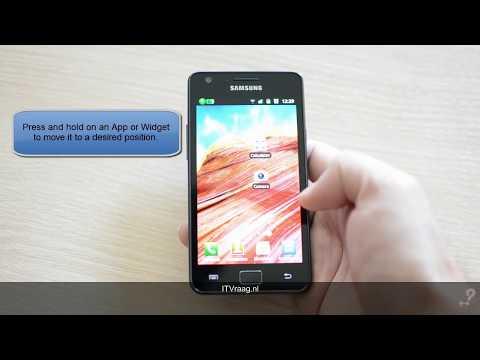 Samsung Galaxy S2 - Apps & Widgets (screen customization)
