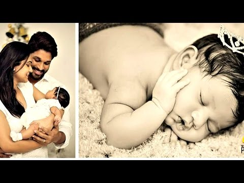 Allu Arjun & Sneha Reddy's Daughter ARHA Latest Video