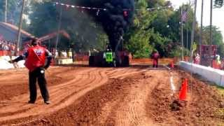 Badger State Tractor Pullers Theresa, WI 2013 Lil Angry Deutz John Anderson