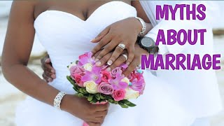 Hey fam today we are talking on Myths About Marriage. Many people h...
