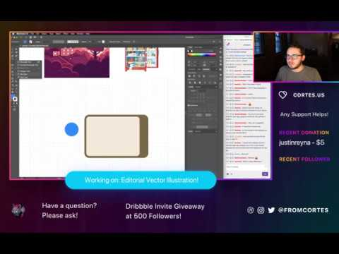 Do You Need a Degree in Design Illustration (Twitch Stream #23)