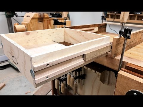 Wooden Full Extension Drawer Slides Experiment
