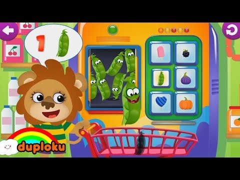 Bermain Kereta Roller Coaster dan Belanja Buah Sayur Game Review - Duploku