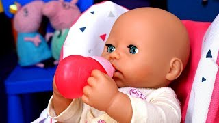 Baby Annabell Doll Baby Doll Feeding Time - Pretend Play Cooking Toy Food for Baby Alive Doll