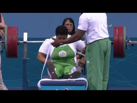 Powerlifting - Women's -82.50 kg Group A - London 2012 Paralympic Games