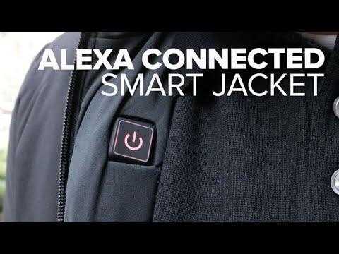 Ministry of Supply's Alexa-powered smart jacket adjusts temperature