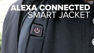 Ministry of Supply's Alexa-powered smart jacket adjusts temperature