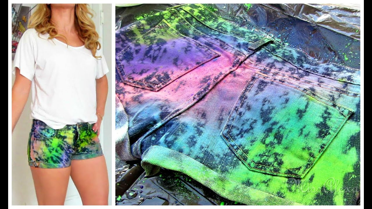Remove Spray Paint From Jeans