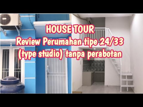 REVIEW PERUMAHAN TIPE 24/33 (TYPE STUDIO) | HOUSE TOUR INDONESIA | HOME DECOR INDONESIA