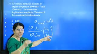 I PUC   Physics   CET/NEET/JEE   Oscillations