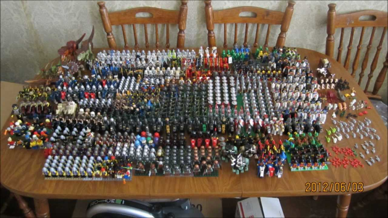 Lego NinjaGo Castle Hundreds Of Minifigs Ultimate Army