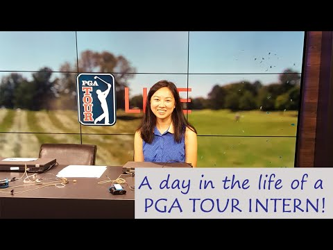 Day In The Life Of A PGA TOUR Intern - College Summer Vlog - Living in Florida!