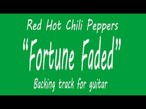 Fortune Faded - Backing Track For Guitar