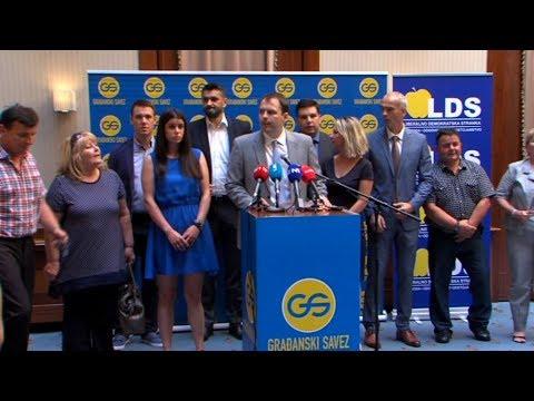 Građanski savez i LDS od septembra jedna stranka