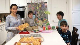 Choreg - Armenian Easter Cookies - Armenian Bread - Heghineh Cooking Show