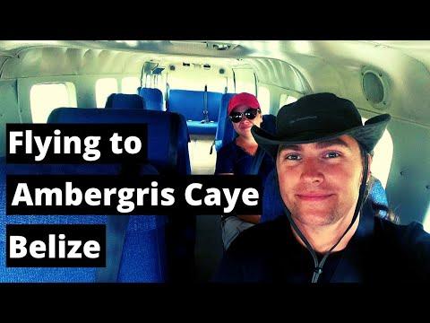 Epic Flight to San Pedro, Ambergris Caye - Belize