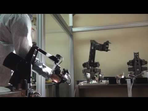 Guiado Grips Kraft Telerobotics (Maestro-Esclavo 6GDL)