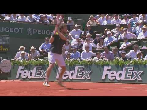 Roland Garros 2014 SF Djokovic Gulbis
