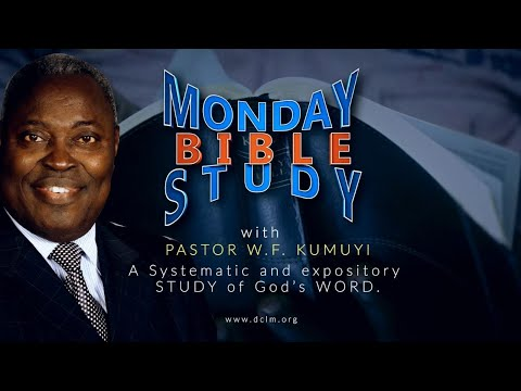 Bible Study (September 21, 2020) The Priority of Scriptural Unity in His Church