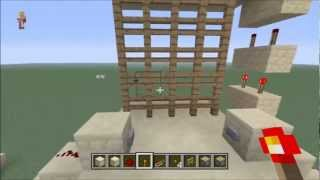 Minecraft Xbox 360 Edition | TUTORIAL | Castle Gate / Portcullis