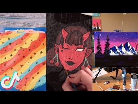 TikTok Art Compilation #3