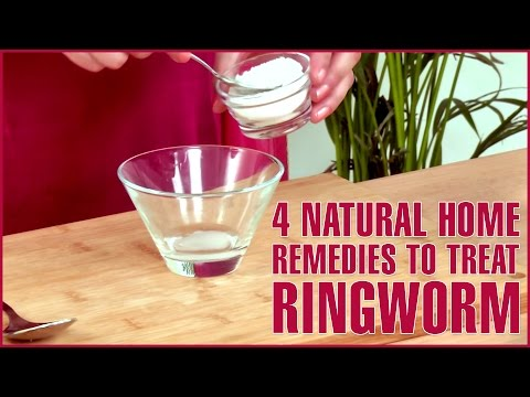 4 Best Natural Home Remedies For RINGWORM TREATMENTS