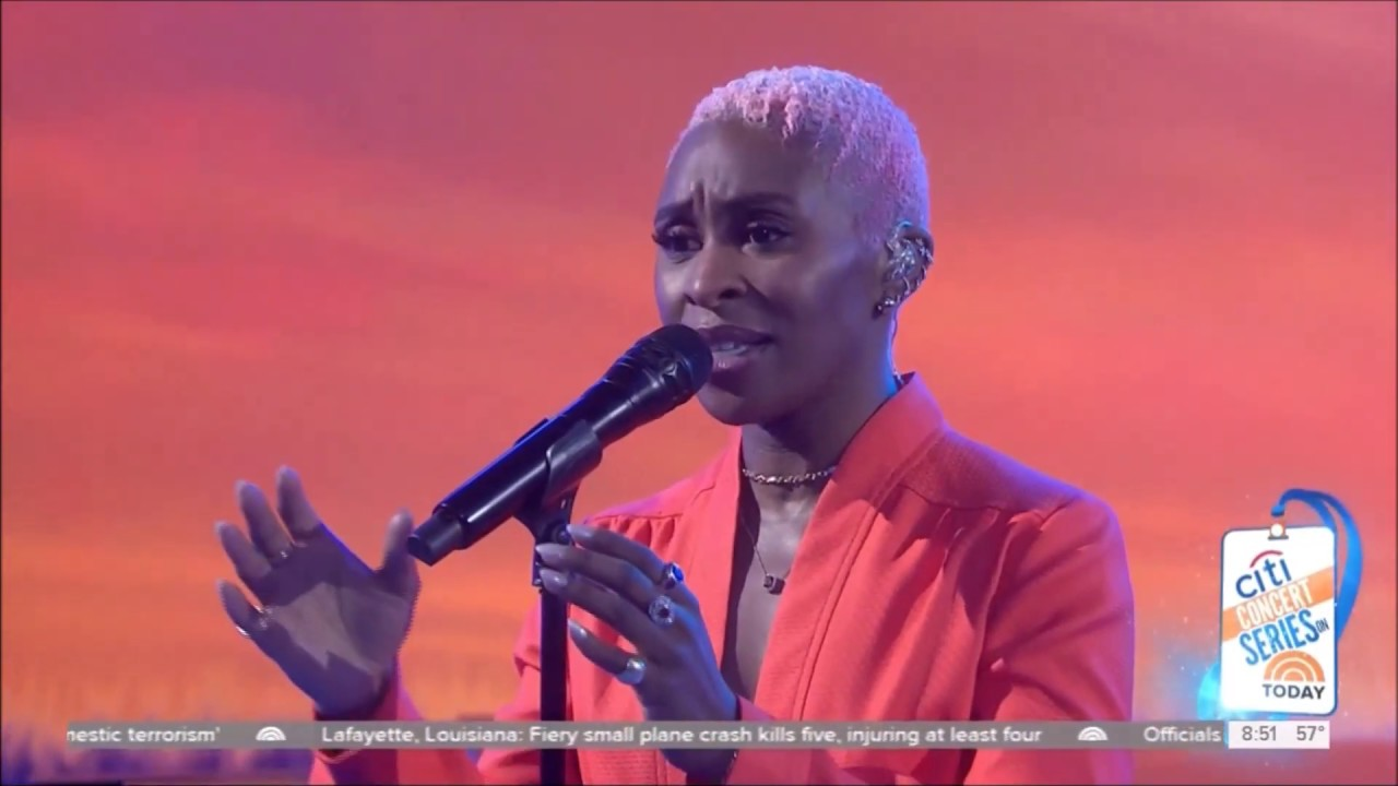 Cynthia Erivo sings Stand Up Live Concert Performance HD 1080p