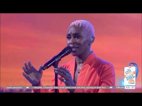 """Cynthia Erivo sings """"Stand Up"""" Live Concert Performance HD 1080p"""