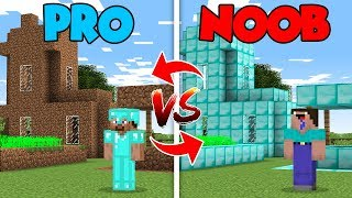 Minecraft NOOB vs. PRO : VILLAGE RECONSTRUCTION in Minecraft (Compilation)