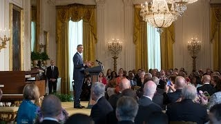 President Obama Speaks at the 2014 Easter Prayer Breakfast