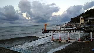 СОЧИ ХОСТА МОРЕ 2 ноября 2020 Черное море в ноябре Отдых на море осенью