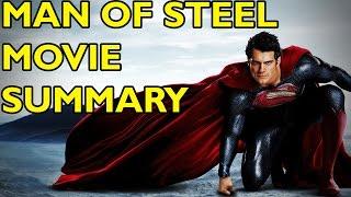Movie Spoiler Alerts - Superman - Man of Steel (2013) Video Summary
