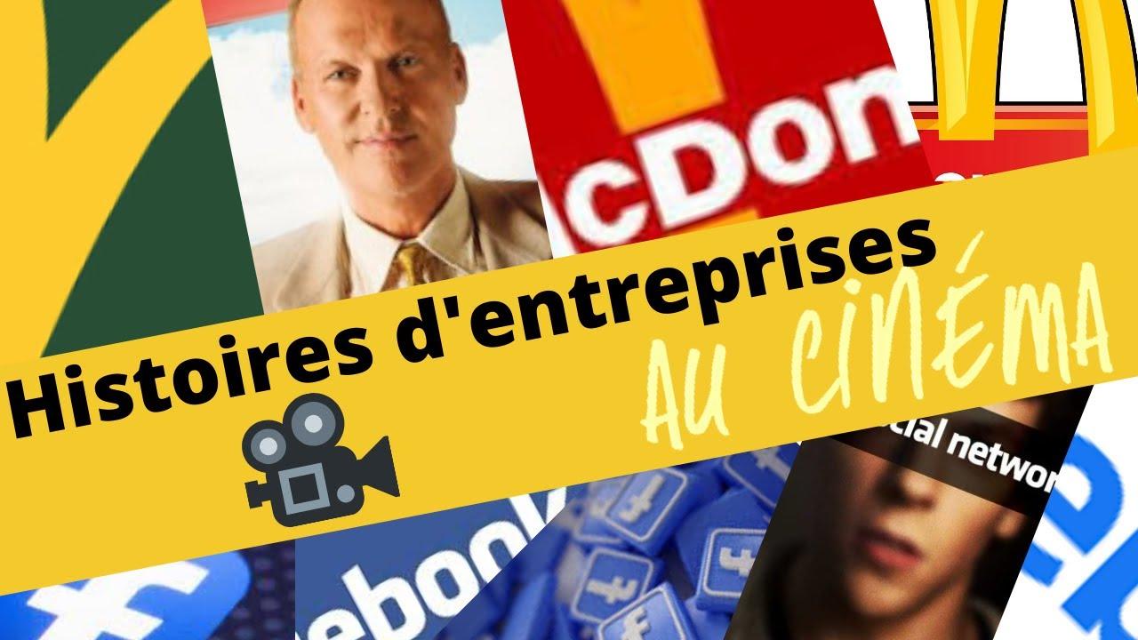 McDonald, Facebook : LES HISTOIRES D'ENTREPRISES AU CINEMA !