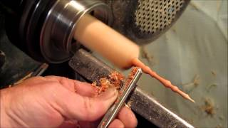 Wood Turning A Maple Finial