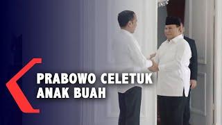 Jadi Tamu Jokowi, Prabowo Celetuk Anak Buah