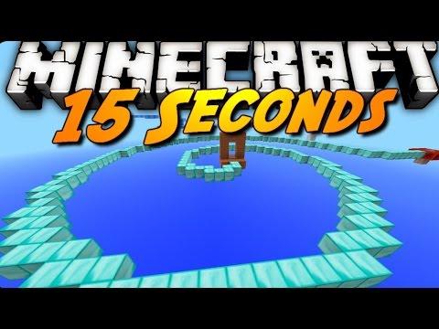 15 Секунди на ярост! Minecraft 15 Second Parkour