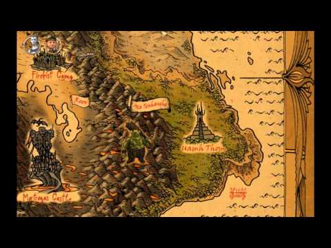 Let's Play Book of Unwritten Tales - Part 16: Damn Map!  