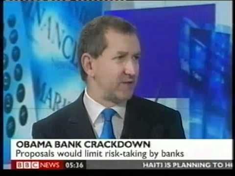 Obama sets out new restrictions on banking industry. BBC World Business 22 January 2010