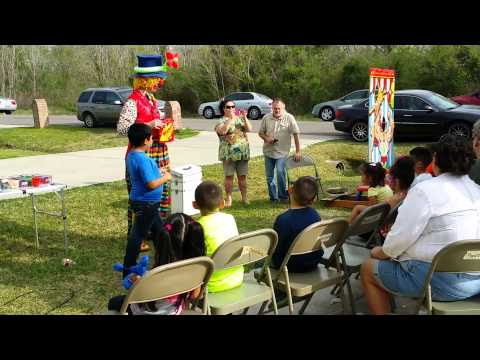 Curly the Clown Magic Show