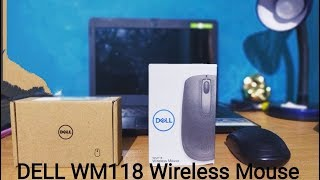 DELL WM118 1000 DPI Wireless Optical Mouse Unboxing and full Review