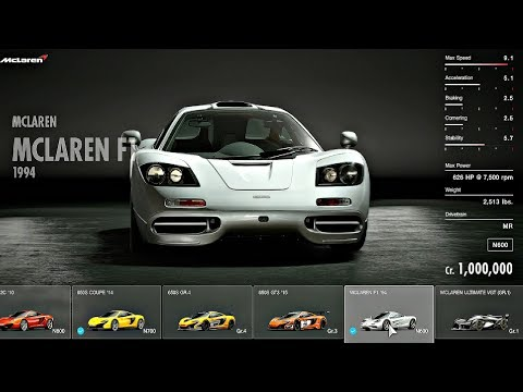 Gran Turismo Sport - All Cars / Full Car List + DLC (February 2018)