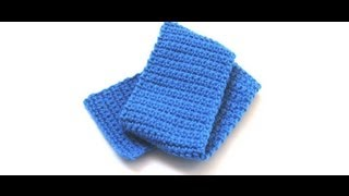Simple Crochet Scarf by Crochet Hooks You