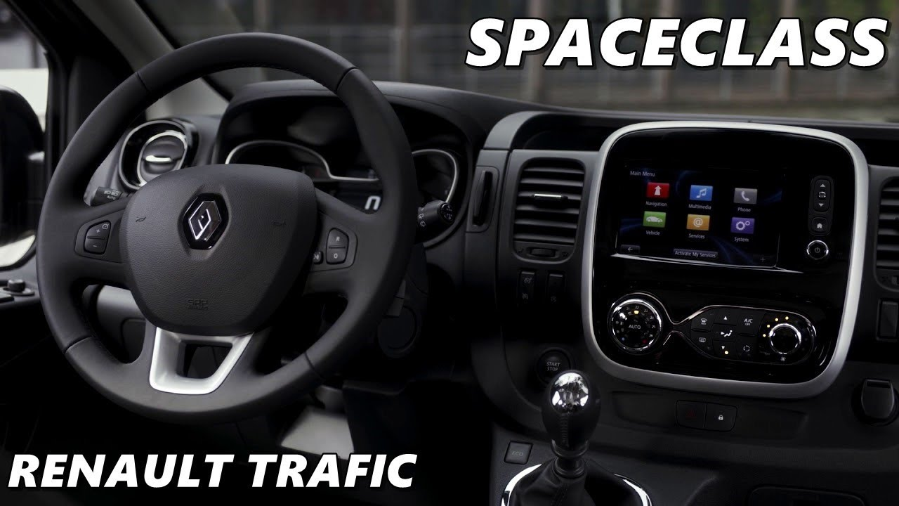 2017 Renault TRAFIC SpaceClass | Interior, Exterior - YouTube
