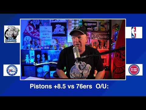 Detroit Pistons vs Philadelphia 76ers 1/23/21 Free NBA Pick and Prediction NBA Betting Tips