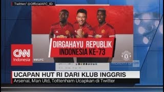 Download Video Ucapan HUT RI dari Klub Sepak Bola Inggris MP3 3GP MP4