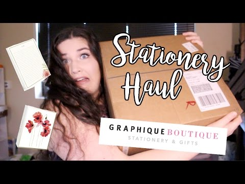 Stationery Haul and Unboxing! [#2] + GIVEAWAY! [CLOSED] (CC)