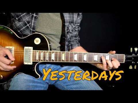 Guns n Roses – Yesterdays cover